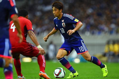 W杯予選カンボジア戦で1ゴールを決めた香川真司