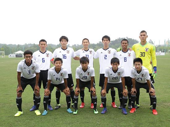 サッカー アンダー 17