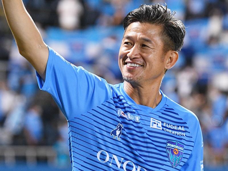 カズの存在が横浜FCの勝因になっている。背中で語る53歳の美学|Jリーグ他|集英社のスポーツ総合雑誌 スポルティーバ 公式サイト web Sportiva