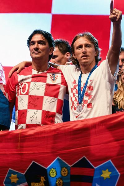 モドリッチが述懐。クロアチア快...