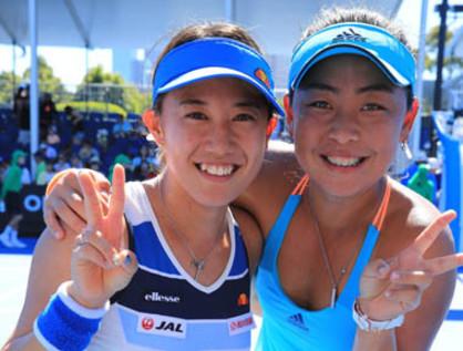 全豪ベスト4の美人ペア「えりみゆ」が、東京五輪のメダル候補に浮上【スポルティーバ】