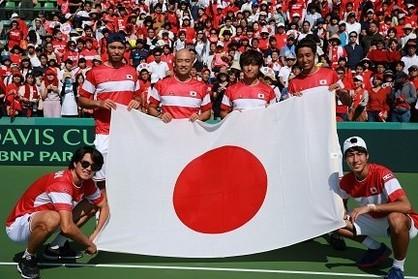 テニス日本代表の世代交代。岩渕ジャパンは選手層の厚さでデ杯完勝【スポルティーバ】