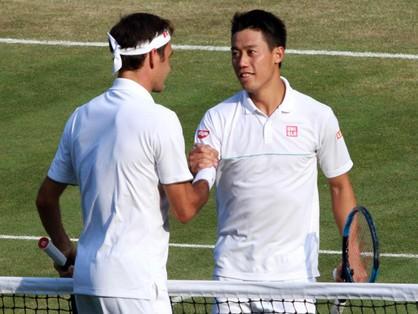 フェデラーに敗れたが、錦織圭のメンタルとテニスは安定してきている【スポルティーバ】