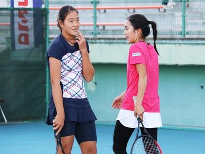 石井琢朗の娘と久保竜彦の娘がテニス・ダブルスでコンビを組んでいた【スポルティーバ】