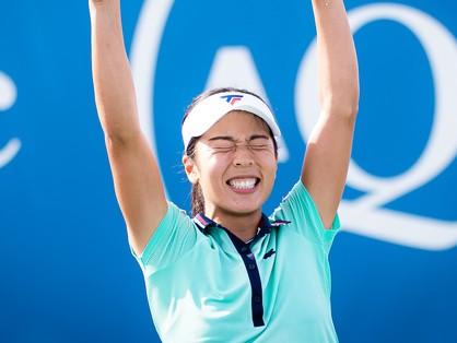 日本女子テニス界に新星現る。鮮烈デビューを果たした本玉真唯とは何者?【スポルティーバ】