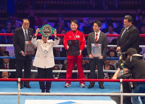 史上二人目。WBCが袴田巌氏に「...