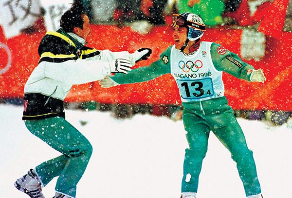 1998年長野オリンピックのスキージャンプ競技