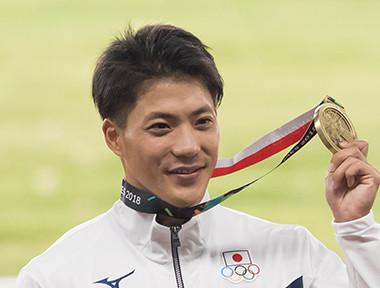 持ち前の修正力でガラッと走りを変更山縣亮太が銅メダルを獲得
