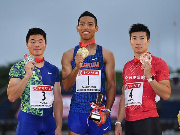 末續慎吾が100m9秒台の日本人3選手を評価。「格が違う」のは ...