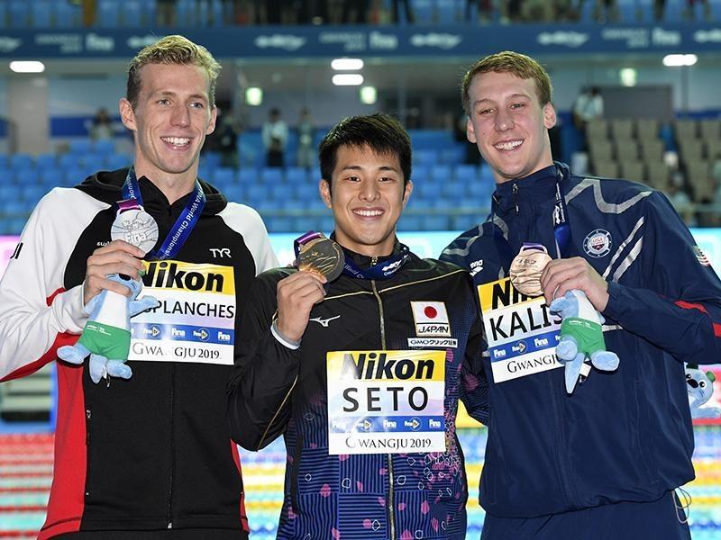 世界 水泳 選手権 2019 結果